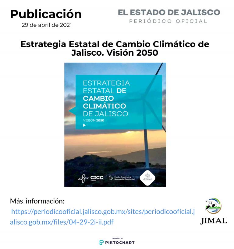 Estrategia estatal cambio climatico 29 abril 2021